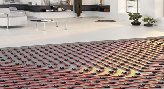 Ahorro de energía con suelo radiante